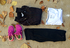 Essentials for a winter workout