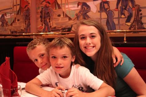 Junior Annalie Dern studies abroad