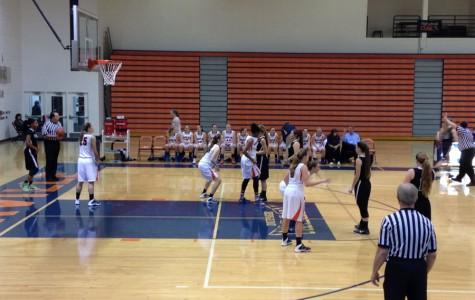 Girls varsity basketball defeats Plainfield Central Wildcats