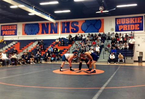 Huskie wrestling sweeps Lake Park High School