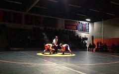 Wrestling team falls short to Wheaton North