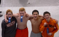 Boys swim and dive breaks record at DVC meet