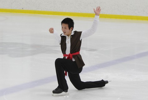 Skating for the gold