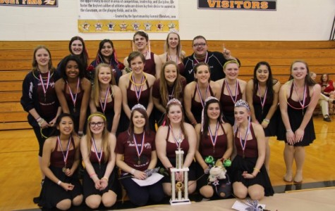 Winter guard sweeps last competition