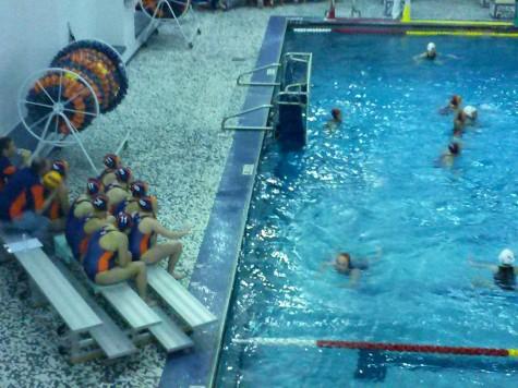 Girls water polo defeats crosstown rival