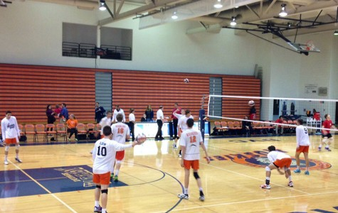 Boys volleyball wins crosstown classic