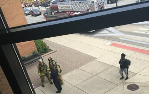 Breaking news: six sent to hospital due to pepper spray