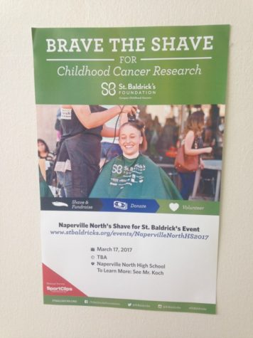 "NNHS faculty and students ""brave the shave"""