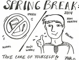 Stay healthy this spring break