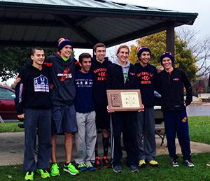 Boys cross country wins DVC title