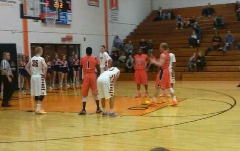 Boys varsity basketball defeats Wheaton-Warrenville South