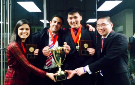 Debate team places second in state