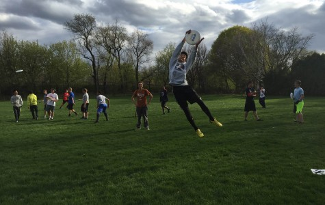Ultimate frisbee team competes in Neuqua Knockout