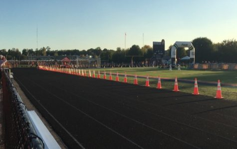 Annual Twilight meet lit up the night at Naperville North