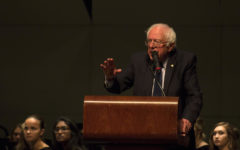 Sen. Bernie Sanders visits NCHS to spread his message