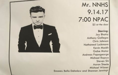 Meet the contestants of Mr. NNHS 2017