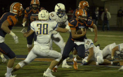 Huskie football improves to 3-0 with offensive explosion on Senior Night