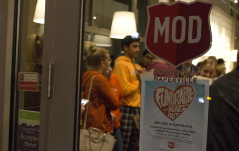 MOD Pizza fundraiser for suicide prevention draws large crowds Wednesday