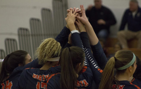 Huskie girls volleyball eliminated from playoffs