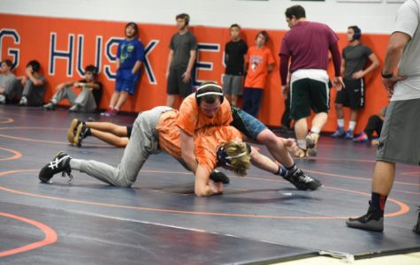 NNHS Boys Wrestling shows promise with strong leaders and teamwork