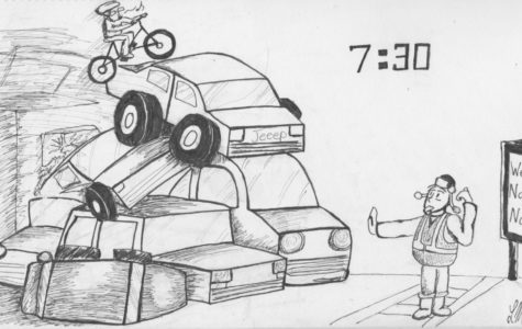 Editorial Cartoon: Mornings on Mill