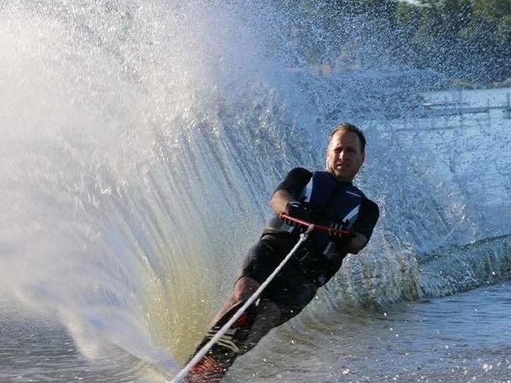 Mazzarella+pictured+water+skiing.+Photo+courtesy+of+Strong+You+Are+fundraiser