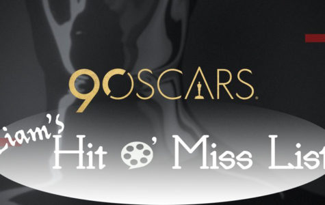 Liam's Hit O' Miss List: The 90th Oscars