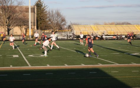 Huskie girls soccer offense explodes in win agianst Glenbard North