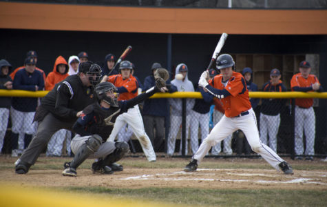 Naperville North varsity baseball dominates in first home game