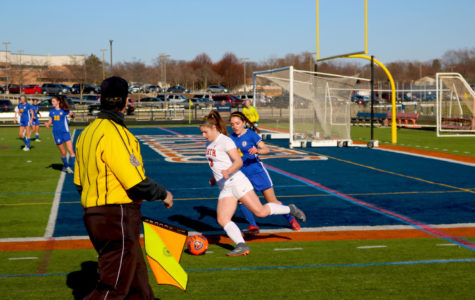 NNHS girls soccer starts off tournament on the right foot