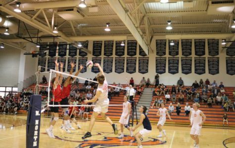Naperville North volleyball falls just short of victory in crosstown matchup