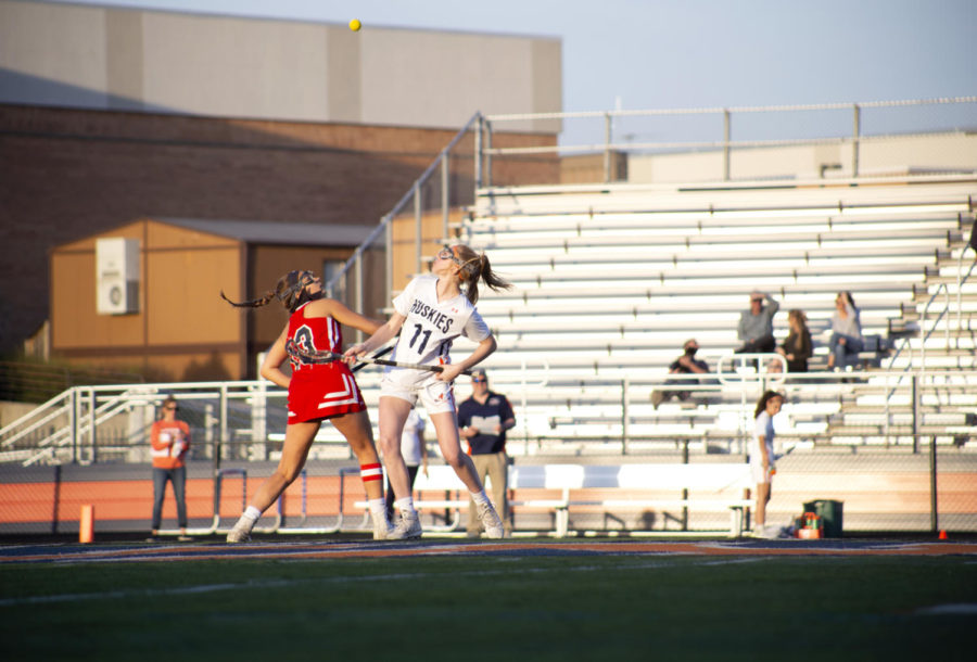 NNHS girls lacrosse defeats crosstown rivals in offensive explosion