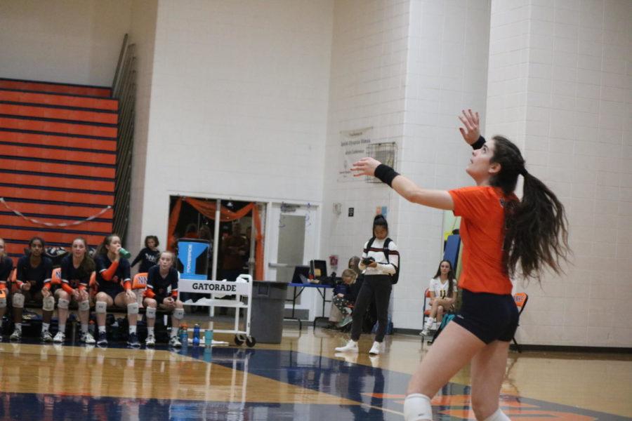 Huskie+volleyball+falls+short+of+comeback+win+on+senior+night