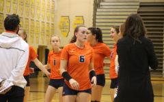 Girls volleyball suffers rare loss