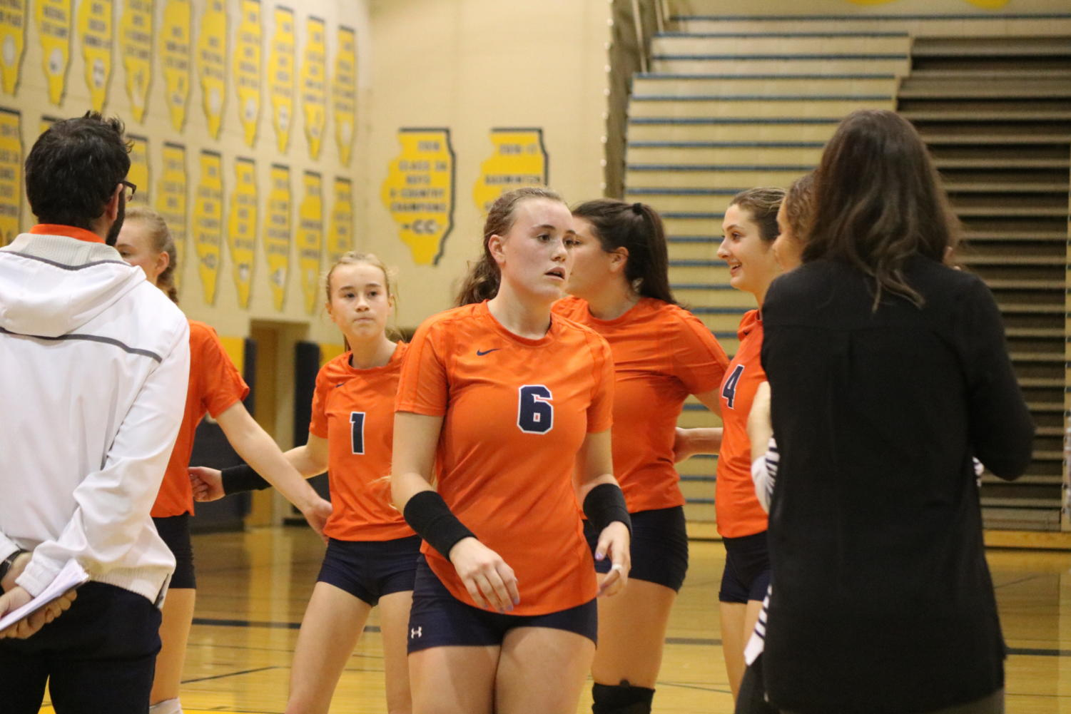Girls Volleyball Suffers Rare Loss The North Star Penny In Fuse Box Explosion