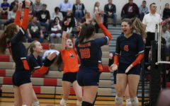 Girls volleyball advances to sectional final with statement win over Lockport