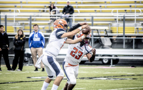 Huskie football picks up a win as playoff hopes are revived