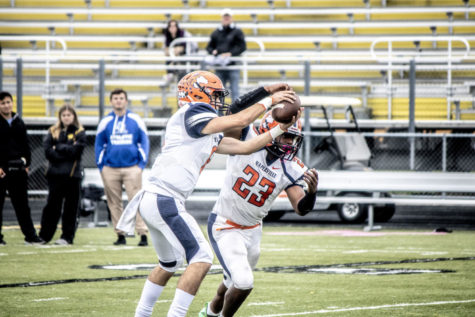 Naperville North football completes upset victory against Huntley