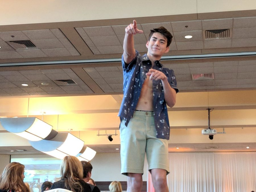 Huskies hit the runway for the 19th annual Senior Fashion Show