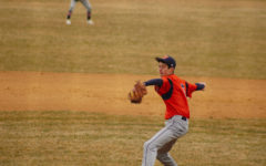 Huskie boys baseball wins first home match in blowout