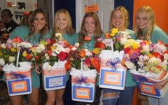 Photoslider: Swim and Dive Senior Night