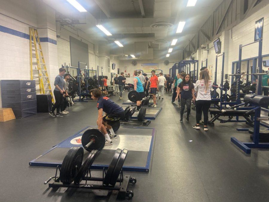 Popularity of Strength and Performance class raises issues for weight room