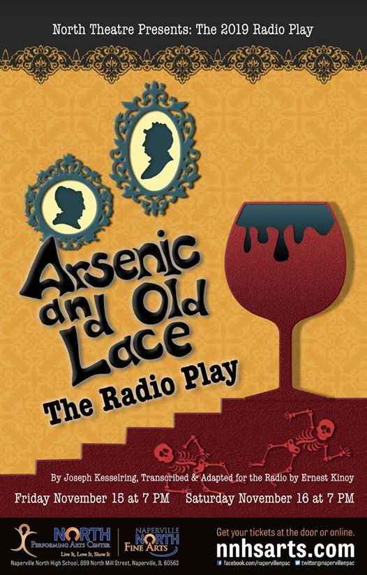 When the mind was a stage—Arsenic and Old Lace: The Radio Play