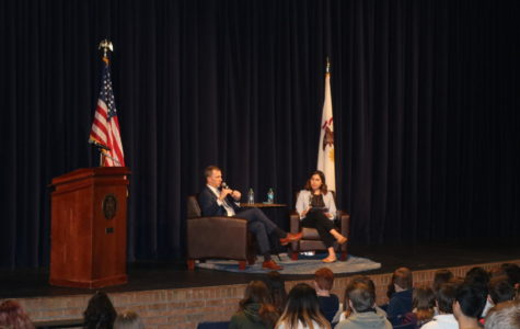 Representative Sean Casten talks climate change, student activism in Naperville North visit