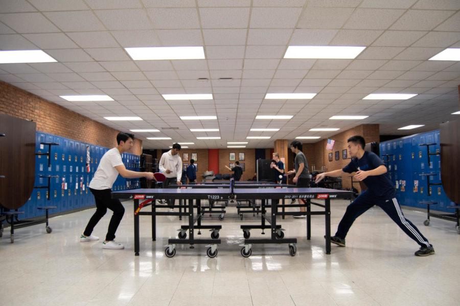 Photoslider: Table tennis prepares for success