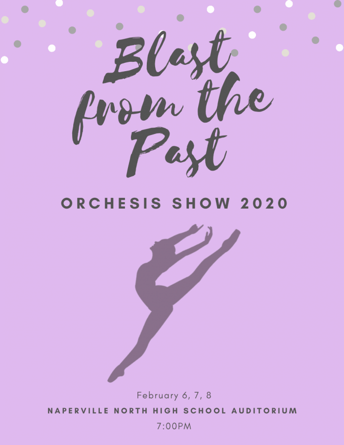 "Naperville North's annual Orchesis showcase promises a true ""Blast from the Past"""