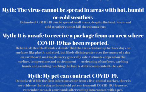 Graphic: Debunking five COVID-19 myths