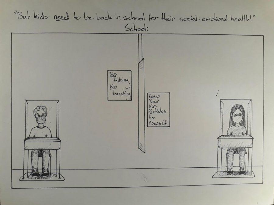 Cartoon: Social-emotional health
