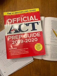 The hunt for an ACT/SAT test