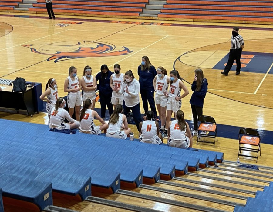 Huskie girls basketball secures win against Neuqua Valley in opener